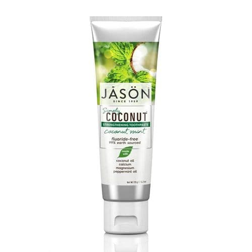 Jasons Natural Organic Coconut Strengthening Tootpaste Mint